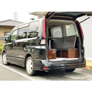 セレナ キャンピングカー トランポ 新品架装 車中泊 8ナンバー キャンパー ベッドキット
