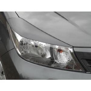 ヴィッツ NSP130,135,NCP130,131,135 H22.12〜H26.3 SKデザイン アイライン純正カラー塗装済み 左右セット|carshop-nagano