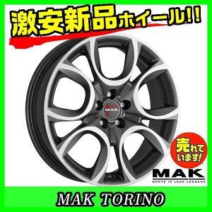 ホイール 阿部商会 MAK TORINO GM 2本セット 業販4本購入で送料無料 【インチ】16イ...
