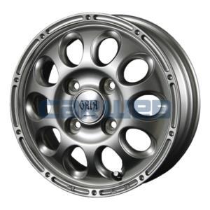 [ホイールのみ単品4本セット] MANARAY SPORT / GAIA BRIG (SL) 12インチ×3.5J PCD:100 穴数:4 インセット:45 carweb