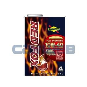 SUNOCO RED FOX RACING & SPORTS バイク用 (4サイクル) 10W-40 全合成油 JASO MA2 (1L) carweb