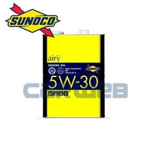 SUNOCO airy エンジンオイル 5W-30 SN/GF5/CF4 部分合成油 20L carweb