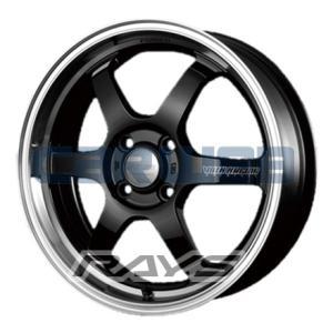 [ホイールのみ単品4本セット]RAYS / VOLK RACING TE37 KCR (BK/FDMC) 16インチ×5.5J PCD:100 穴数:4 インセット:45 carweb