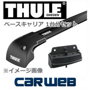 [9592B/4043] THULE ウイングバーエッジセット(ブラック) 500X '15〜 ダイレクトレール付|carweb