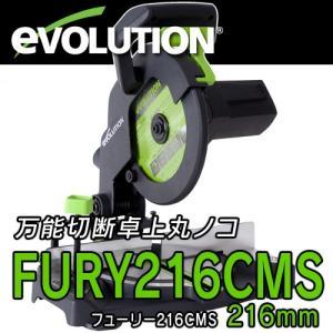 FURY216CMS/216mm万能切断卓上マルノコ(チップソー付) 【EVOLUTION】 EVOJFURY216CMS casa-i-eterior