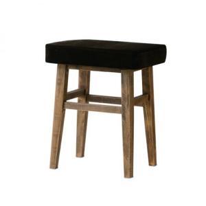 送料無料 木製 ウッドスツール べルベット|casa-i-eterior