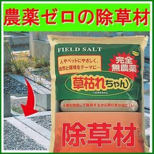 撒くだけ簡単の雑草対策 無農薬 除草材 「草枯れちゃん」3kg casa-i-eterior