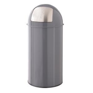 トラッシュカン 30L グレー ゴミ箱 ごみ箱 蓋付き ダストボックス くず入れ Φ31×H66 東谷|casa-i-eterior