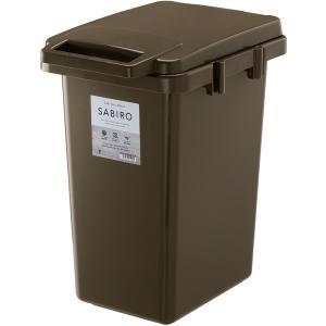サビロ 連結ワンハンドペール33J ブラック W31.9×D43.6×H50.5 シンプル ゴミ箱 ごみ箱|casa-i-eterior