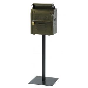 送料無料 人気商品   U.S.MAIL BOX(グリーン)ポスト 世田谷ベース casa-i-eterior