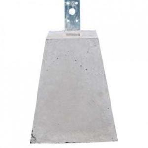 ウッドデッキ材5万円以上と同時購入の場合送料無料 束石 90角用/高さ220mm (11.0kg)|casa-i-eterior