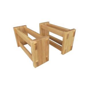 テーブル脚 テーブル用脚 DIY 脚のみ パーツ MK 木製脚 座卓用置脚 2本1組 タモ材