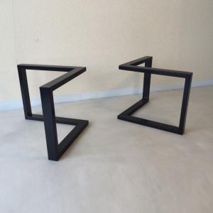 【テーブル脚のみ】天板は付属しておりません  お持ちの天板や、お好きな材料で製作された天板に合わせて...