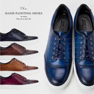 スニーカー 革靴 本革 カジュアル 紳士靴 シューズ Mon Model No.1901 casadepaz
