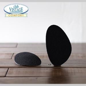 ブラック CLUB VINTAGE / フィットフォームクッション ハーフサイズ 3mm インソール 中敷|casadepaz