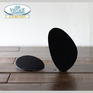 ブラック CLUB VINTAGE / フィットフォームクッション ハーフサイズ 4mm インソール 中敷|casadepaz