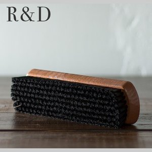 ブラック プロ・ブラックブラシ スムース革 ツヤ出し・仕上げ用 【 シューケア 革靴 手入れ 】 R&D|casadepaz