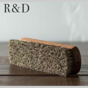プロ・ホースブラシ スムース革 ホコリ落し、毛並み調整 【 シューケア 革靴 手入れ 】 R&D|casadepaz