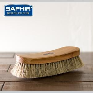 【 シューケア 汚れ落とし ブラシ 】 グランドホースヘアブラシ 21cm|casadepaz
