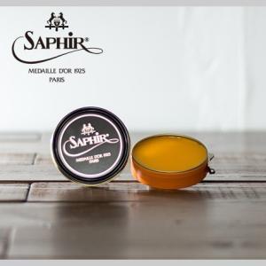 ビーズワックス ポリッシュ フォーン 50ml 【 シューケア ツヤ出しワックス 防水 スムースレザー ワックス 】 サフィール ノワール ( Saphir Noir )|casadepaz