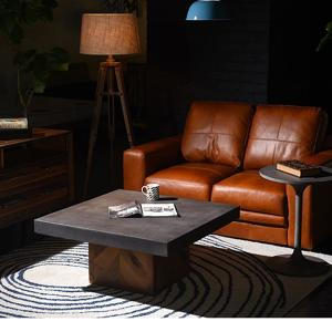 コーヒーテーブル リビングテーブル デザイナーズ コンクリート天板 PARQUET|casahils