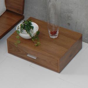ZEN ナイトテーブル ベッドサイドテーブル ウォールナット|casahils