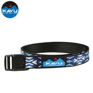 KAVU カブー バーリーベルト ブルートライバル 4549562104574|cascaderocks
