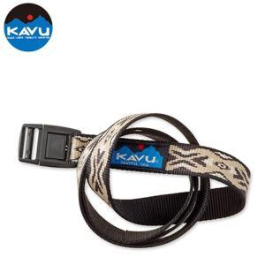 KAVU カブー バーリーベルト ブラウントライバル 4549562104581|cascaderocks