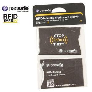 pacsafe RFIDセーフ スリーブ 25 4548732658640|cascaderocks