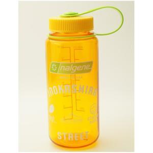 NALGENE 広口0.5L Tritan クレメンタイン INOKASHIRA STREETオリジナルデザイン限定ボトル G1801189|cascaderocks
