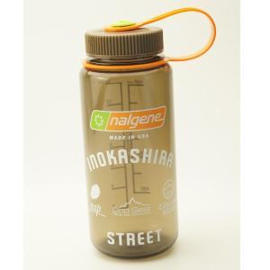 NALGENE 広口0.5L Tritan ウッズマン INOKASHIRA STREETオリジナルデザイン限定ボトル G1801190|cascaderocks