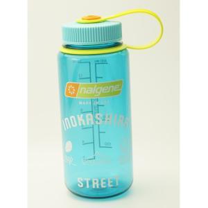 NALGENE 広口0.5L Tritan セル―リアン INOKASHIRA STREETオリジナルデザイン限定ボトル G1801188|cascaderocks