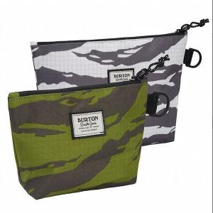 バートン Burton Utility Pouch Set 9009521238580 Castlerock Tiger Ripstop Print / Keef Tiger Ripstop Print S20JP-173061|cascaderocks