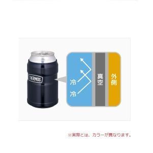 サーモス 保冷缶ホルダー/ROD-002 ステンレス(S) 4562344368476|cascaderocks|03
