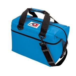 AO Coolers AOクーラーズ 24 パック キャンバス ソフトクーラー 約23L 0896290001618 24 PACK CANVAS ROYAL BLUE|cascaderocks
