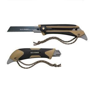オルファワークス 替刃式のフィールドナイフFK1 サンドベージュ 4901165301574 cascaderocks