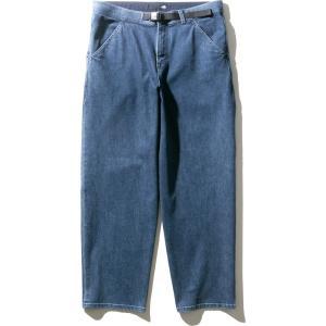 デニムクライミングバギーパンツ(メンズ)Denim Climbing Baggy pants NB32004 WD 4549398881656 XL|cascaderocks