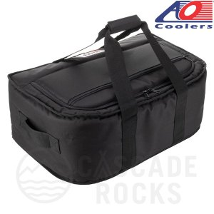 AO Coolers AOクーラーズ 38パック キャンバス ストー&ゴー ソフトクーラー 約36L 0896290001717 38 PACK STOW-N-GO CANVAS BLACK|cascaderocks