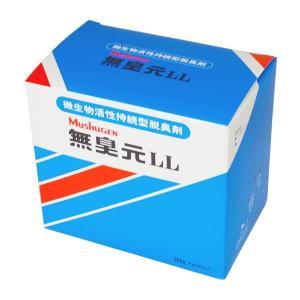 無臭元LL 200g×5パック 1箱 汲み取りトイレ用消臭剤 微生物 活性持続型消臭剤