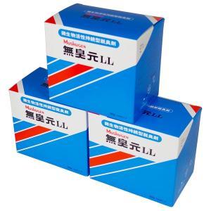 無臭元LL 200g×5パック 3箱 汲み取りトイレ用消臭剤 微生物 活性持続型消臭剤
