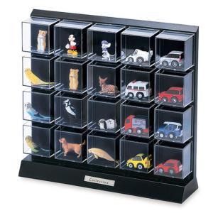 コレクションケース フィギュアケース ミニカーケース ディスプレイケース D104 材質:ポリスチレ...