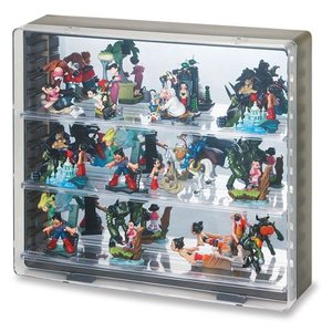 コレクションケース フィギュアケース ミニカーケース ディスプレイケース 伊勢藤 ISETO イセトー K606 色:ブラック|case-shop