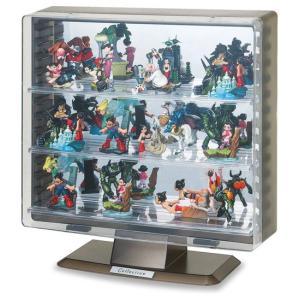 コレクションケース フィギュアケース ミニカーケース ディスプレイケース 伊勢藤 ISETO イセトー ST606 色:ブラック スタンドタイプ|case-shop