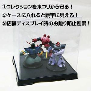 コレクションケース フィギュアケース ディスプレイケース 人形ケース ミニカーケース 折りたためるケース 幅21cm×奥行21cm×高32cm|case-shop|04
