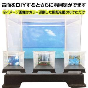 コレクションケース フィギュアケース ディスプレイケース 人形ケース ミニカーケース 折りたためるケース 幅21cm×奥行21cm×高32cm|case-shop|05
