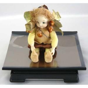 人形ケース フィギュアケース コレクションケース 背面金張りケース W12cm×D12cm×H8cm case-shop 02