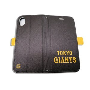ジャイアンツ 携帯ケース 手帳型 GIANTS ロゴ ブラック  iPhone6 7 8 iPhone6 7 8Plus iPhoneX Xs iPhone Xs Max iPhone XR|case-ya|05