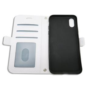 ジャイアンツ 携帯ケース 手帳型 ジャビット 総柄 ホワイト  iPhone6 7 8 iPhone6 7 8Plus iPhoneX Xs iPhone Xs Max iPhone XR|case-ya|02