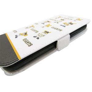ジャイアンツ 携帯ケース 手帳型 ジャビット 総柄 ホワイト  iPhone6 7 8 iPhone6 7 8Plus iPhoneX Xs iPhone Xs Max iPhone XR|case-ya|03