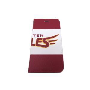 東北 楽天 ゴールデン イーグルス 手帳型 携帯ケース EAGLES ロゴ レッド|case-ya